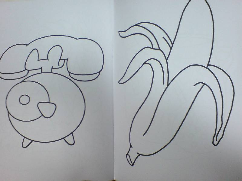 простые рисунки: