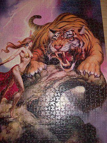 Иллюстрация 1 из 11 для Puzzle-1000. Тигр (С-101207) | Лабиринт - игрушки. Источник: Hoty