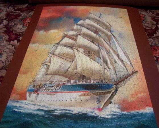 Иллюстрация 1 из 2 для Step Puzzle-1500 83016 Парусник | Лабиринт - игрушки. Источник: Hoty