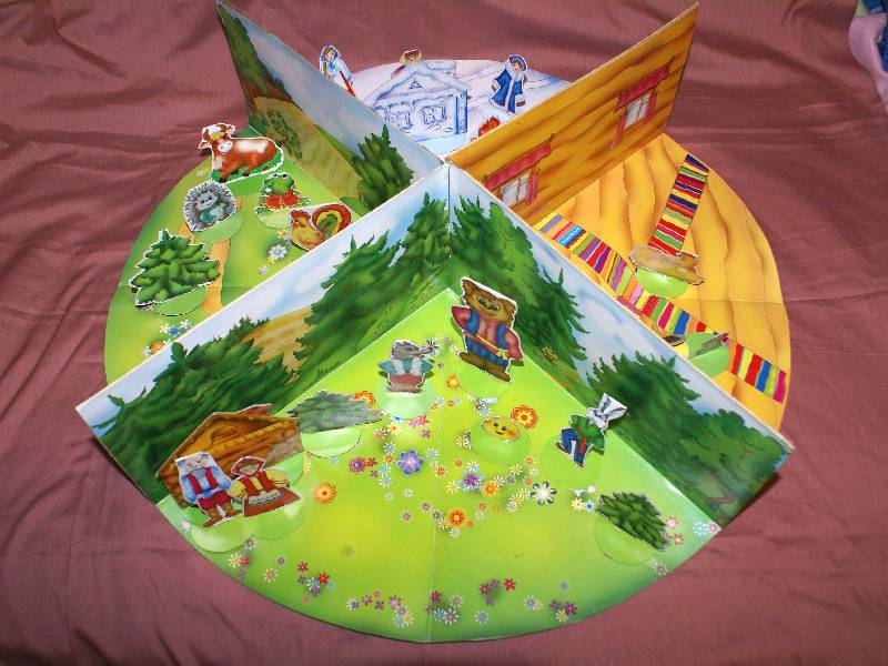Иллюстрация 1 из 5 для Кукольный театр. Настольная игра - самоделка для детей от 5 лет и старше (С-313)   Лабиринт - книги. Источник: РИВА