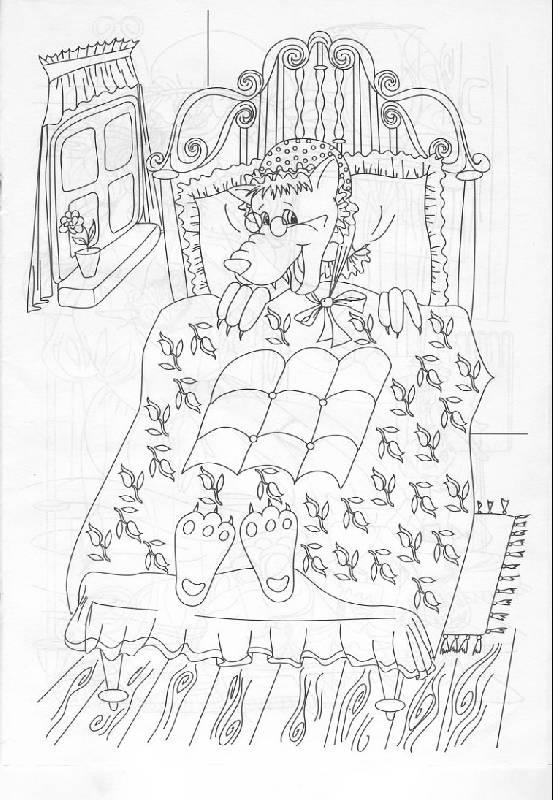 Иллюстрация 1 из 13 для Раскраска: Сказки Шарля Перро (Р040111) | Лабиринт - книги. Источник: The Cat