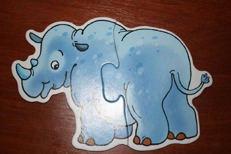 Иллюстрация 1 из 18 для Дикие животные: Собери 8 диких животных: Для самых маленьких | Лабиринт - игрушки. Источник: Счастливая мама