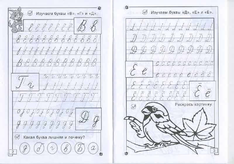 Иллюстрация 1 из 14 для Прописи: Буквы от А до Я - Полярный, Никольская | Лабиринт - книги. Источник: Machaon