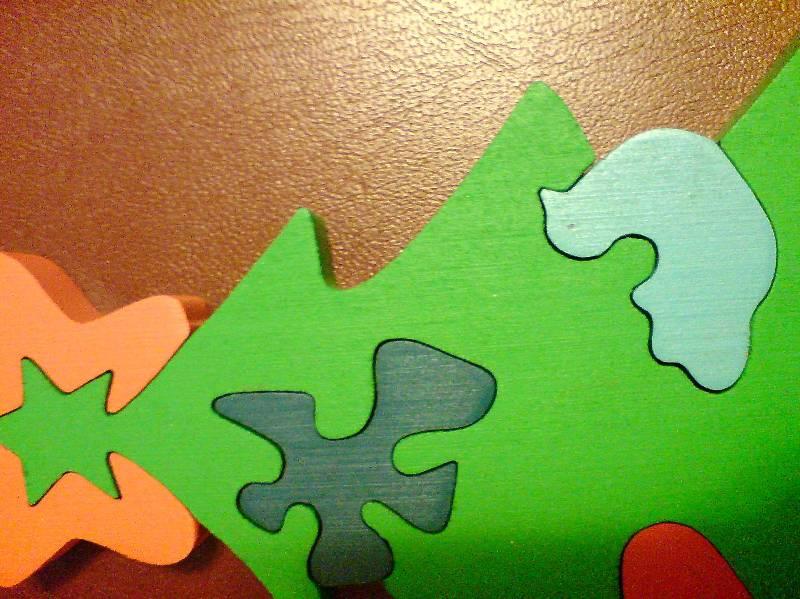 Иллюстрация 1 из 3 для Елка с игрушками (пазл) (Д-336) | Лабиринт - игрушки. Источник: Галкина Татьяна