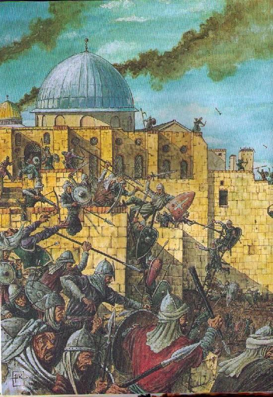 Иллюстрация 1 из 24 для Крестовые походы - Манфред Вазольд | Лабиринт - книги. Источник: In@