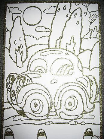 Иллюстрация 1 из 3 для Чудесная раскраска. Автомобильчик (1810)   Лабиринт - игрушки. Источник: kitteyn