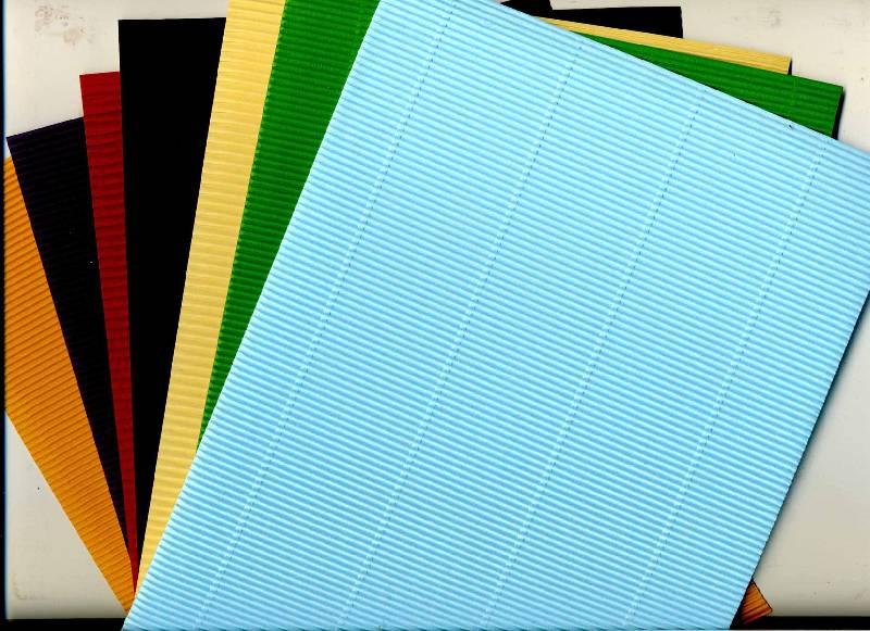 Иллюстрация 1 из 16 для Набор гофрированного картона для творчества, 7 цветов (DT-1006) | Лабиринт - канцтовы. Источник: ilamtel