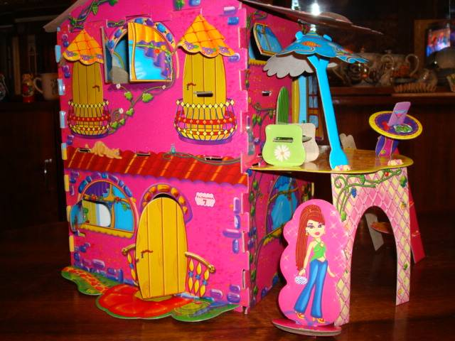 Иллюстрация 1 из 12 для ГК-202 Домик куклы | Лабиринт - игрушки. Источник: Алёнушка-Аленка