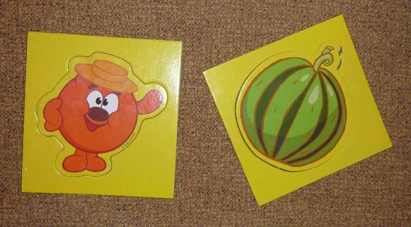 Иллюстрация 1 из 4 для Трафареты. Смешарики. Огород Копатыча | Лабиринт - игрушки. Источник: Jull