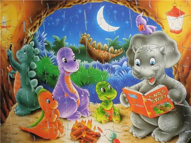 Иллюстрация 1 из 2 для Step Puzzle-60 81018 Динозаврики | Лабиринт - игрушки. Источник: малышка Мю