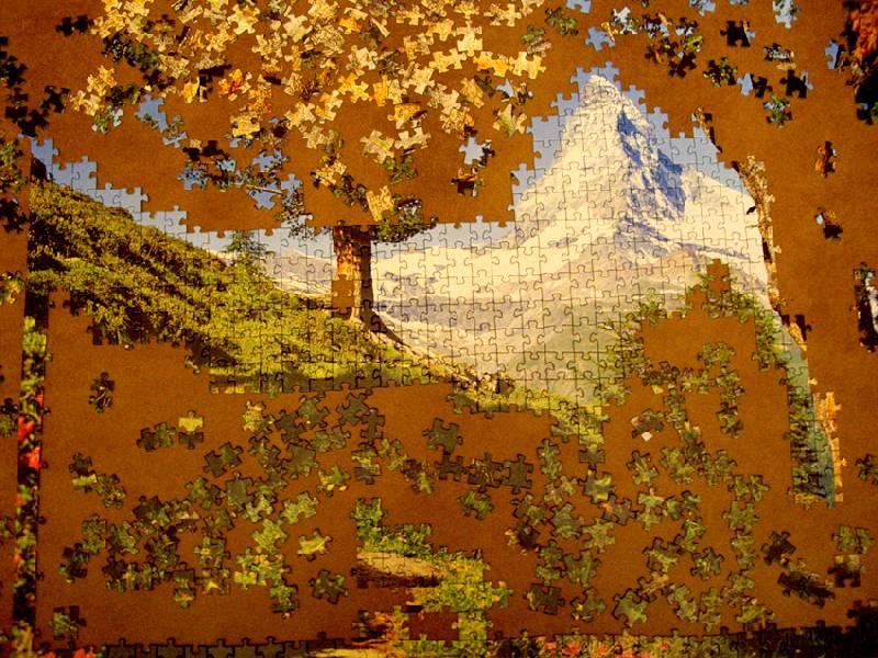 Иллюстрация 1 из 2 для Маттерхорн Step Puzzle-1000 79025 | Лабиринт - игрушки. Источник: OOlga