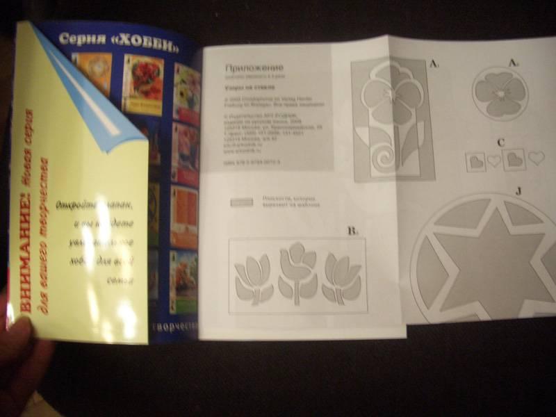 Иллюстрация 1 из 4 для Узоры на стекле. Подарки. Аксессуары. Предметы интерьера - Марта Штайнмейер   Лабиринт - книги. Источник: unnamed