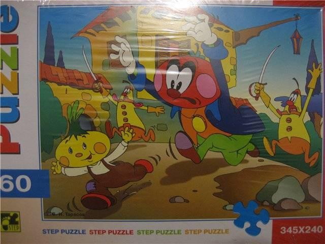 Иллюстрация 1 из 5 для Step Puzzle-160 72048 Чиполлино | Лабиринт - игрушки. Источник: малышка Мю