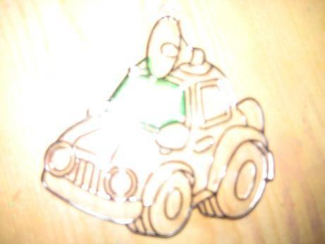 Иллюстрация 1 из 5 для Витраж малый: Машинка | Лабиринт - игрушки. Источник: kitteyn