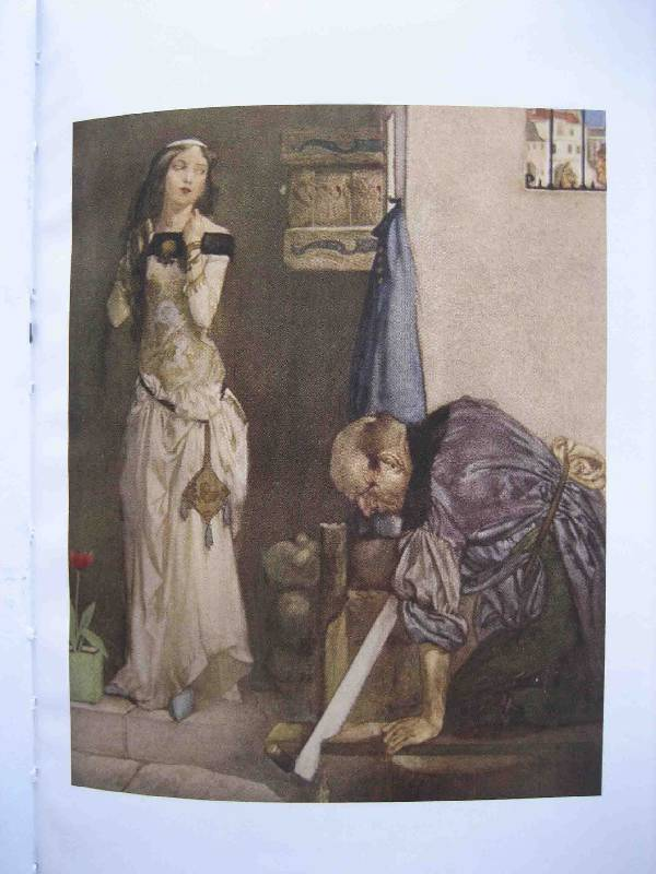 an analysis of the portrait of johns young wife from the millers tale by geoffrey chaucer