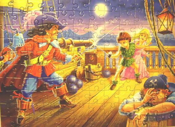 Иллюстрация 1 из 7 для Puzzle-120. MIDI. Питер Пен (В-12398) | Лабиринт - игрушки. Источник: OOlga