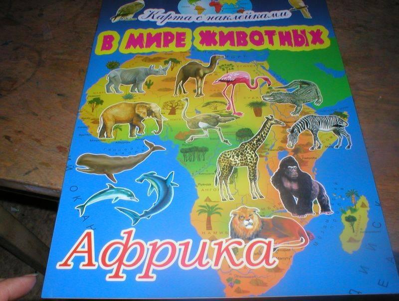 Иллюстрация 1 из 3 для В мире животных: Африка - Игорь Куберский   Лабиринт - книги. Источник: Черникова Наталья Вячеславовна