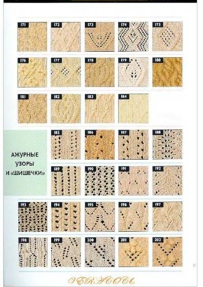 Узоры для вязания лесли стенфилд