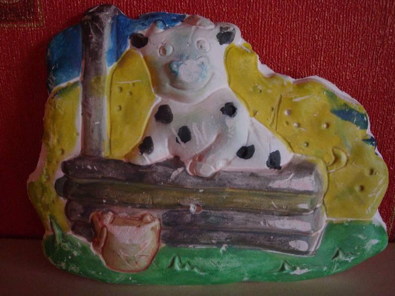 Иллюстрация 1 из 2 для Веселый бычок (Н079) | Лабиринт - игрушки. Источник: Dollyru