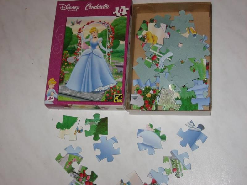 Иллюстрация 1 из 5 для Step Puzzle-60 81102 Золушка | Лабиринт - игрушки. Источник: Dana-ja