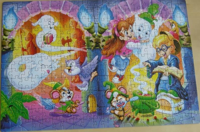 Иллюстрация 1 из 4 для Step Puzzle-260 (7404) Веселое волшебство | Лабиринт - игрушки. Источник: Gaechka