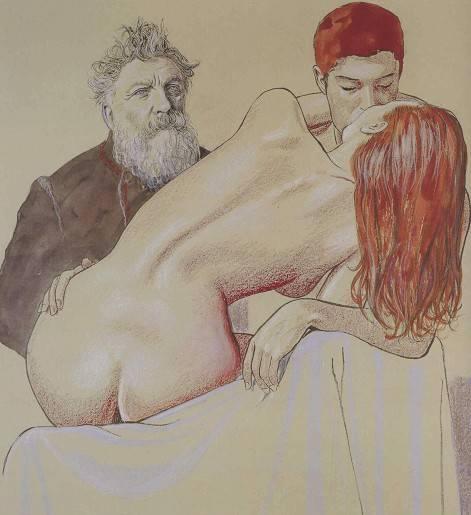 Иллюстрация 1 из 13 для Эротические карты Мило Манара | Лабиринт - сувениры. Источник: Алонсо Кихано