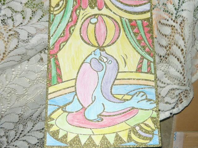 Иллюстрация 1 из 2 для Чудесная раскраска. Тюлень в цирке (1814) | Лабиринт - игрушки. Источник: Ромашка:-)