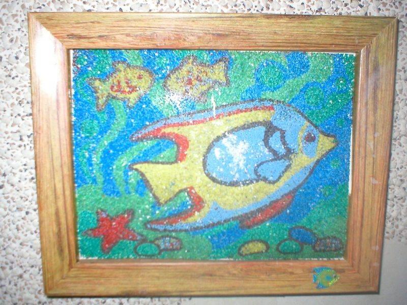 Иллюстрация 1 из 5 для Фреска. Морское дно (407030) | Лабиринт - игрушки. Источник: Черникова Наталья Вячеславовна