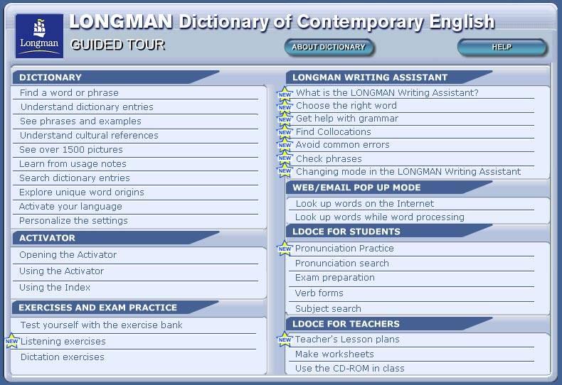 Иллюстрация 1 из 11 для LONGMAN Dictionary of Contemporary English (+ 2CD) | Лабиринт - книги. Источник: Dana-ja