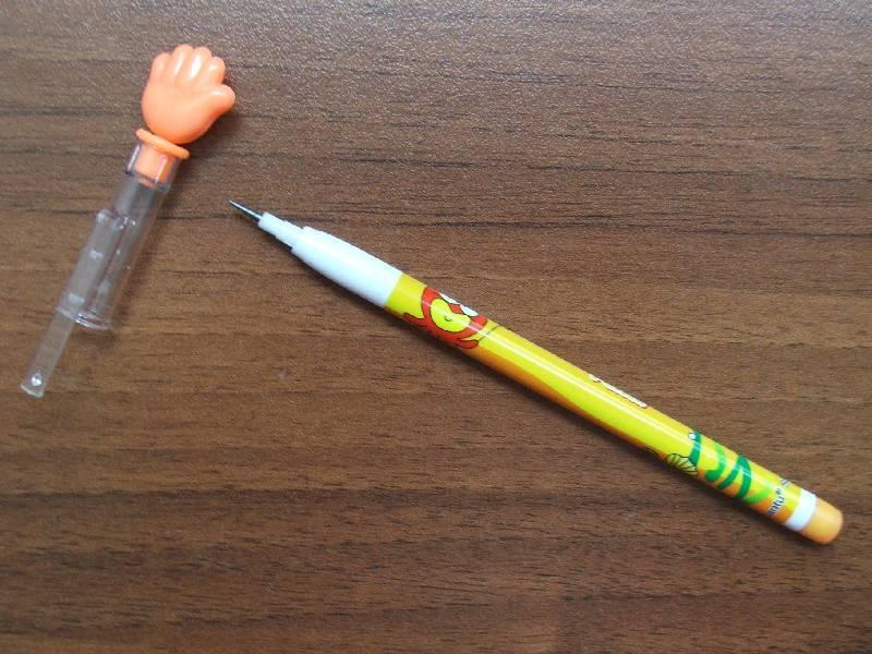 Иллюстрация 1 из 2 для Карандаш черногрифельный Lantu переставляющийся с фигурным колпачком | Лабиринт - канцтовы. Источник: Сороконожка