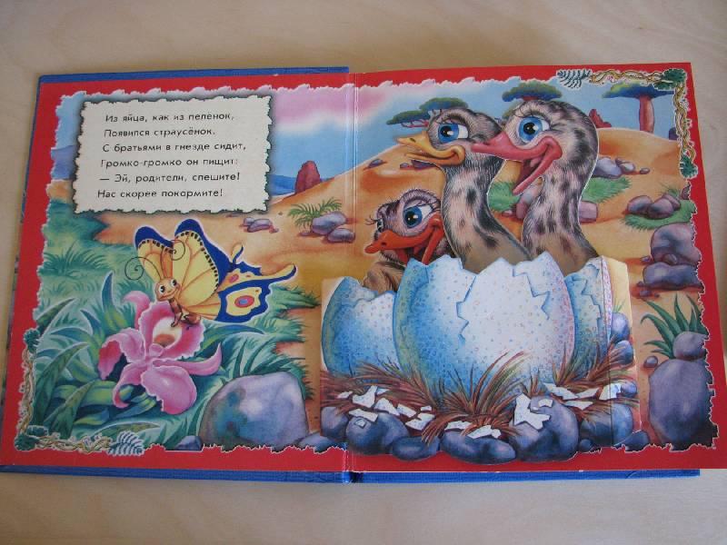 Иллюстрация 1 из 2 для Страусенок: Подвижные картинки - Ирина Солнышко | Лабиринт - книги. Источник: Мамушка