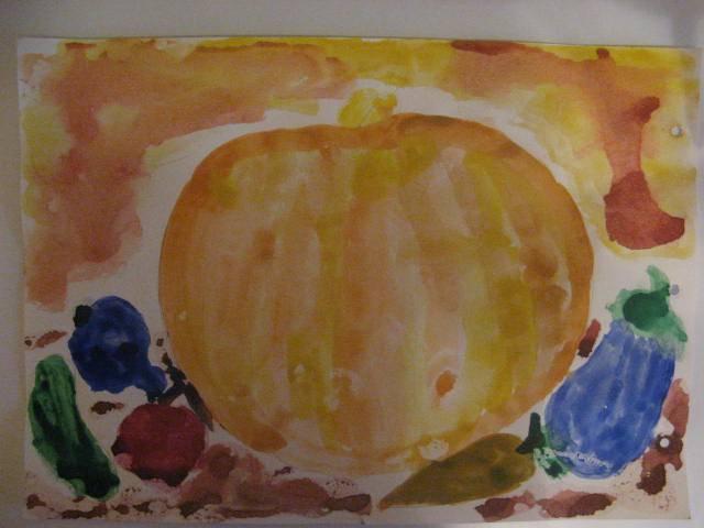 Иллюстрация 1 из 9 для Трафарет фигурный. Тыква с овощами   Лабиринт - игрушки. Источник: libe