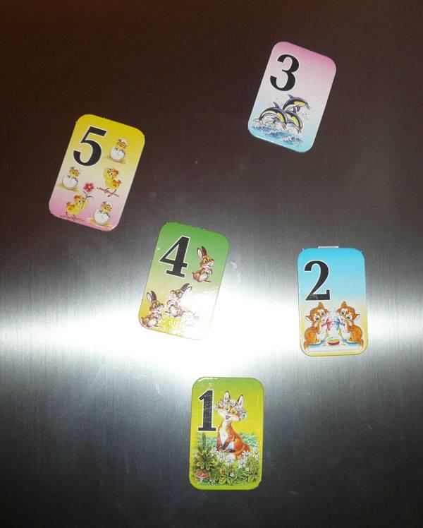 Иллюстрация 1 из 3 для Веселый счет на магнитах: Учебное пособие для детей старше 4-х лет | Лабиринт - игрушки. Источник: Кнопа2