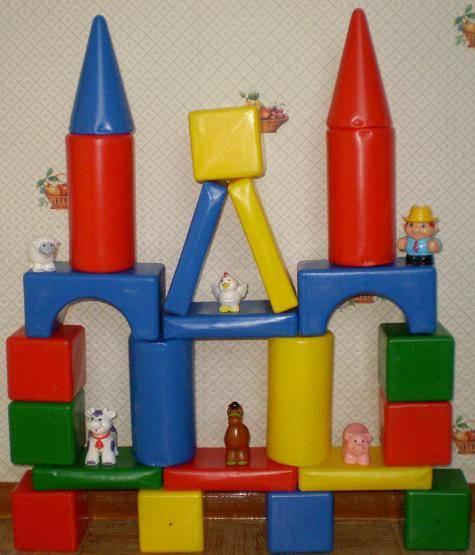 Иллюстрация 1 из 2 для Игра: Теремок: 36 элементов (00885) | Лабиринт - игрушки. Источник: Ирина