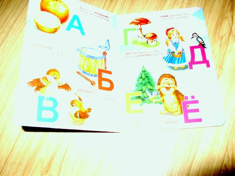 Иллюстрация 1 из 6 для Картонка: Веселая азбука (Цыпленок, енот) - Елена Павлова | Лабиринт - книги. Источник: sht170