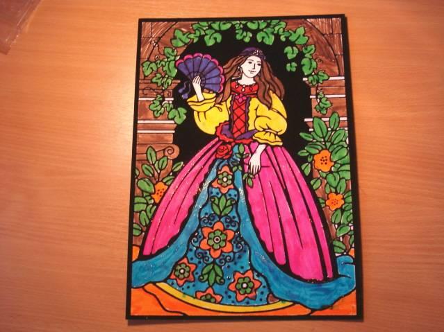 Иллюстрация 1 из 2 для Бархатная раскраска. Принцесса | Лабиринт - игрушки. Источник: soika