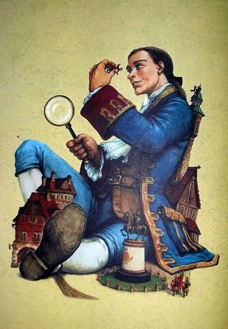 Иллюстрация 1 из 33 для Гулливер в стране лилипутов - Джонатан Свифт | Лабиринт - книги. Источник: Валерия