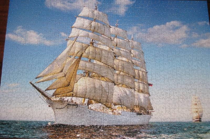 Иллюстрация 1 из 2 для Puzzle-1500. Парусник (С-150182) | Лабиринт - игрушки. Источник: Марийка