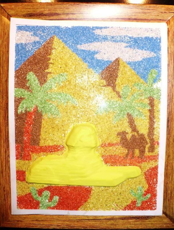 """Иллюстрация 1 из 4 для Панно """"Долина царей""""   Лабиринт - игрушки. Источник: -  Юлия -"""