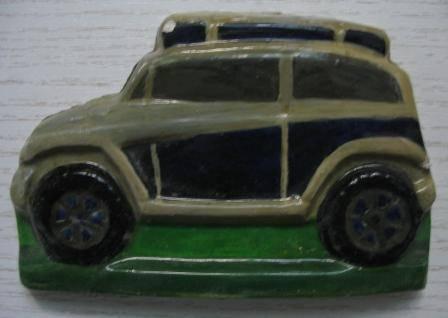 Иллюстрация 1 из 12 для Барельеф: Автомобили-внедорожники | Лабиринт - игрушки. Источник: Д@н@я