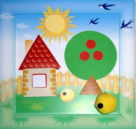Иллюстрация 1 из 2 для Домик: Сделай сам картинку (АБ 15-202) | Лабиринт - игрушки. Источник: Люся