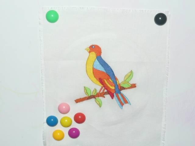 Иллюстрация 1 из 2 для Вышивка гладью: Птичка (008) | Лабиринт - игрушки. Источник: Ромашка:-)