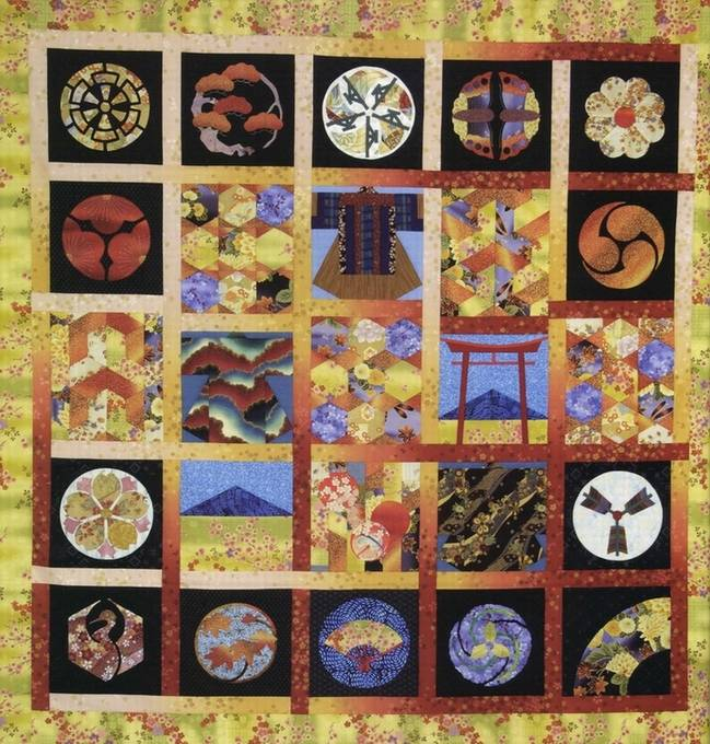 Иллюстрация 1 из 16 для Японский квилтинг - Сьюзан Бриско | Лабиринт - книги. Источник: * Ольга *