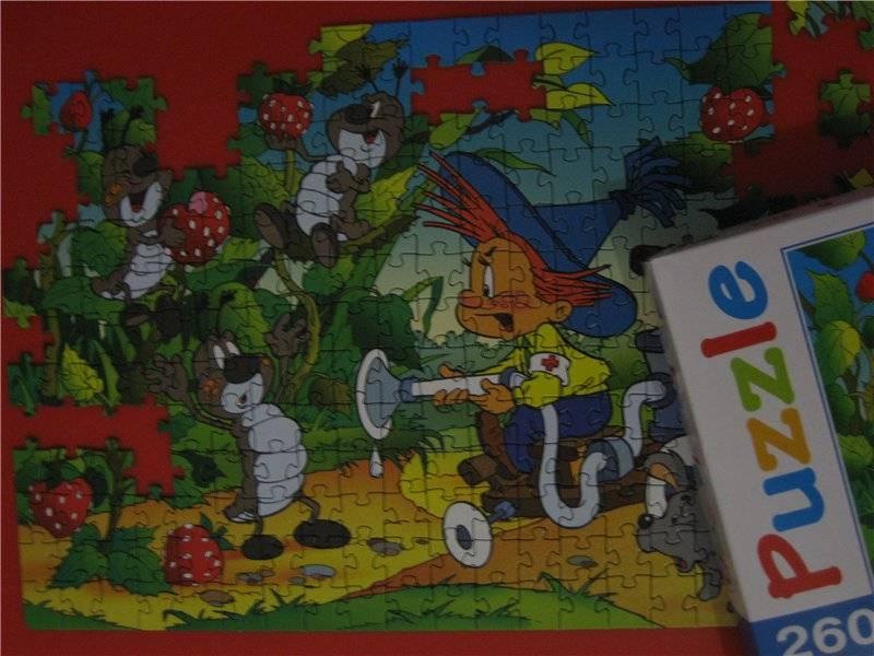 Иллюстрация 1 из 4 для Step Puzzle-260 74002 Незнайка | Лабиринт - игрушки. Источник: малышка Мю