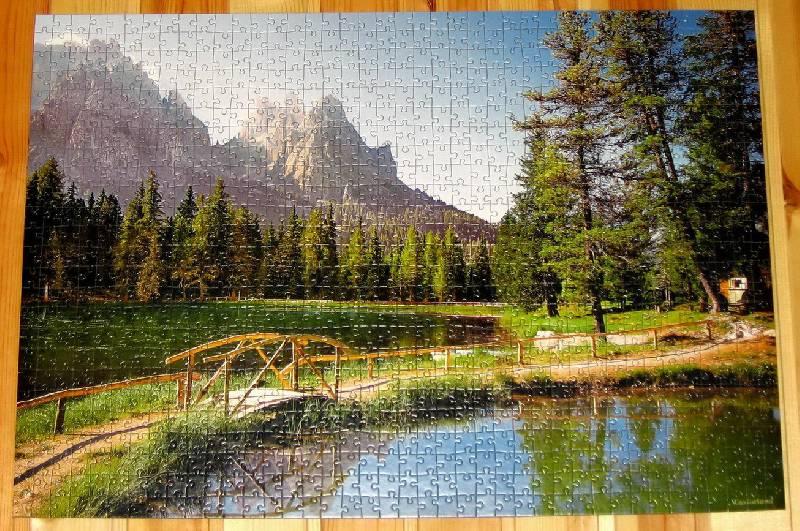 Иллюстрация 1 из 2 для Puzzle-1000.С-100323.Доломиты,Италия | Лабиринт - игрушки. Источник: Губяткин  Павел Владимирович