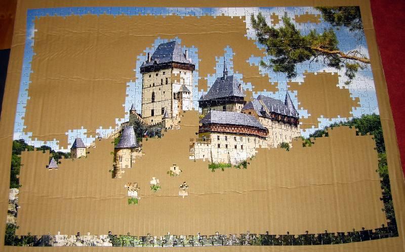 Иллюстрация 1 из 4 для Puzzle-1000. Замок, Чехия (С-101498) | Лабиринт - игрушки. Источник: Губяткин  Павел Владимирович