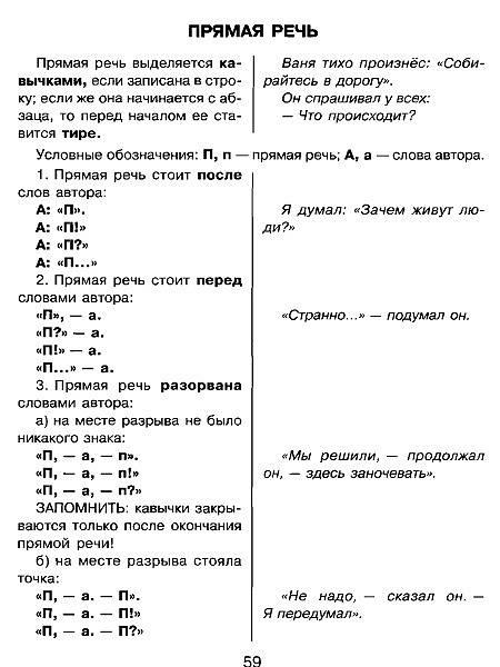 Русский в схемах и таблицах фото 266