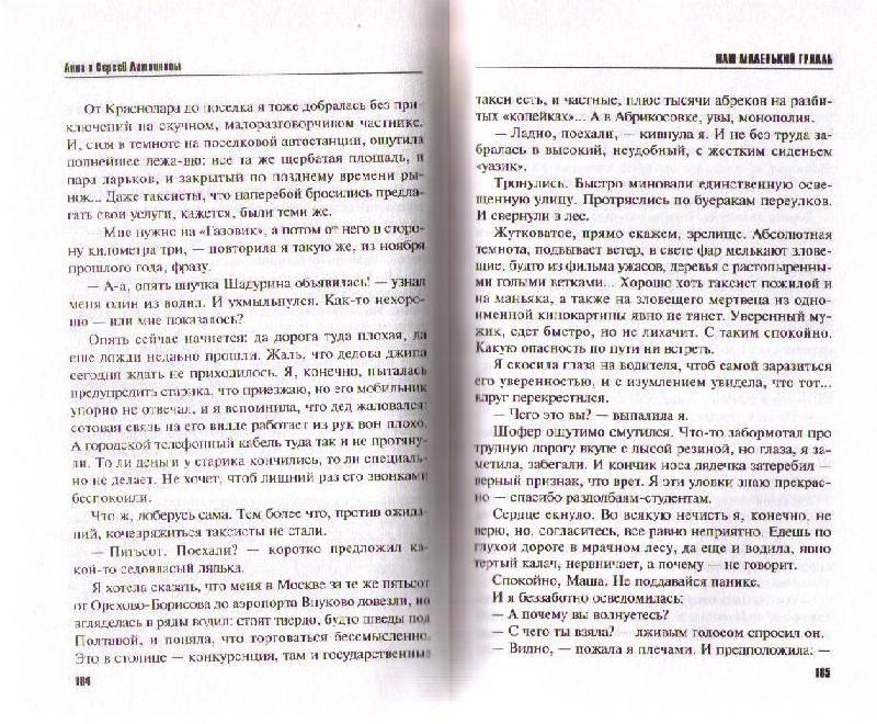 Иллюстрация 1 из 5 для Наш маленький Грааль: Роман - Литвинова, Литвинов | Лабиринт - книги. Источник: Ya_ha