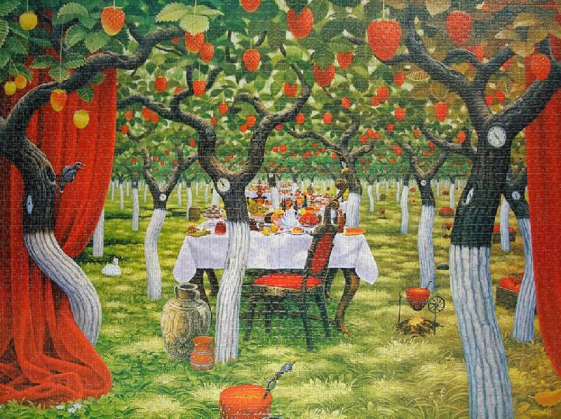 Иллюстрация 1 из 3 для Puzzle-3000. Земляничные деревья (С-300129)   Лабиринт - игрушки. Источник: Kanien'Kahake