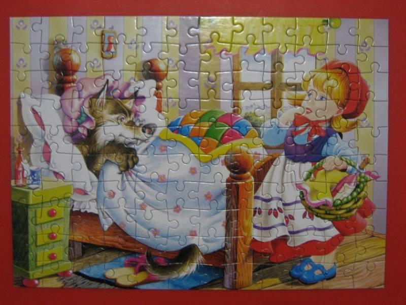 Иллюстрация 1 из 4 для Puzzle-120. MIDI. Красная Шапочка (В-12268) | Лабиринт - игрушки. Источник: малышка Мю